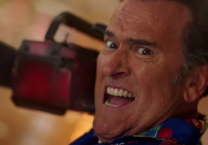 The 'Ash Vs. Evil Dead' Season 2 Trailer Offers Fans A Smorgasbord Of 'Spicy Man-Meat' And Other Glorious One-Liners