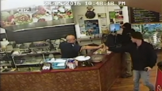 This Badass Kebab Shop Owner Ignored An Armed Robber To Continue Serving A Customer