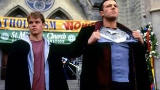 Matt Damon Wants To Play A Superhero, But Only If Ben Affleck's Involved