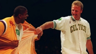 Larry Bird Explains Why He Would 'Never' Have Teamed Up With Magic Johnson