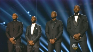 Chris Paul, LeBron James, And Other NBA Stars Kicked Off The ESPY Awards With A Powerful Call For Peace