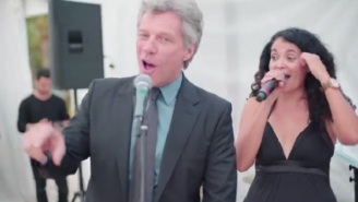 Jon Bon Jovi Dies A Little Behind The Eyes As He's Asked To Sing At A Wedding