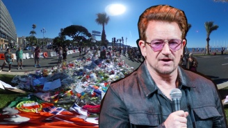 Bono From U2 Reportedly Had To Be Rescued By Police After Being Caught In The Nice Terror Attack
