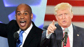 Cory Booker Kills Donald Trump's Trolling Attempts With Kindness