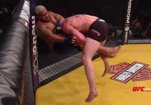 Here's Super Slow Motion Footage Of Brock Lesnar Body Slamming Mark Hunt At UFC 200