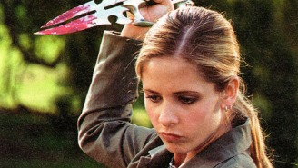Take a stab at this: 'Buffy the Vampire Slayer' gets coloring book