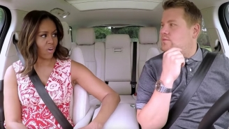 Michelle Obama Finally Brings A Little Political Class To Carpool Karaoke With James Corden