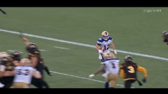 The Most Spectacular Play Of The Week Came On This Crazy Touchdown In The CFL