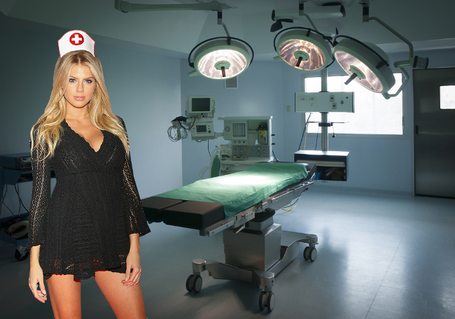 Charlotte McKinney is a nurse