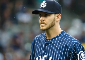 Chris Sale Hated The White Sox Throwbacks, So He Cut Them Up And Got Sent Home
