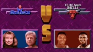 Hillary And Bill Clinton Versus The Bulls Is The 'NBA Jam' Matchup You Didn't Know You Wanted