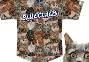 A Baseball Team Will Destroy Its Social Status With These Hideous Cat Uniforms