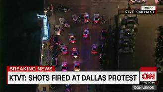 Multiple Officers Have Been Shot And Killed During A Dallas Protest