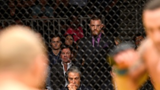 Everyone's Talking About These Pics Of Conor McGregor At UFC 200
