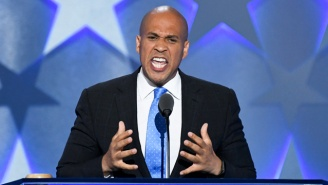 Cory Booker Whipped The DNC Into A Frenzy: 'We Will Rise!'
