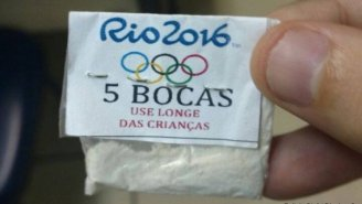 These Olympic-Inspired Cocaine Baggies Will Get You Literally Jacked For The Rio Games