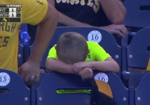 This Glorious Young Pirates Fan Experienced Every Possible Emotion During An 18-Inning Game