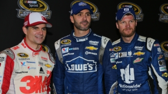 Jeff Gordon Comes Out Of Retirement To Race For An Injured Dale Earnhardt Jr.