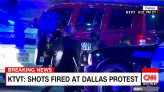 Snipers Were Involved In The Shooting That Has Killed Multiple Officers In Dallas