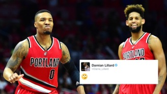 What Does Damian Lillard's Emoji About Allen Crabbe's Nets Deal Mean?