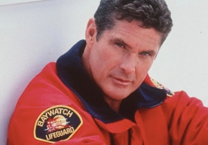 David Hasselhoff Didn't Want Pamela Anderson's 'Enormous Breasts' Or Leonardo DiCaprio On 'Baywatch'