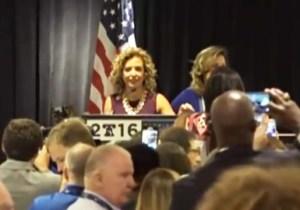 Watch Debbie Wasserman Schultz Get Booed Off The Stage By Florida DNC Delegates