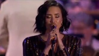 Demi Lovato Outshines Boston's 4th Of July Fireworks With This Cover Of 'Purple Rain'