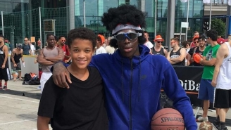 A Disguised Dennis Schröder Donned A Wig And Goggles While Dominating This 3-On-3 Tournament In Berlin