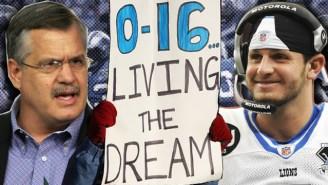 Spectacular Football Failures: Remembering Matt Millen's Motor City Mess