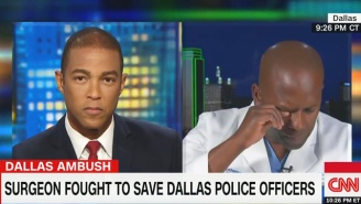 The Dallas Surgeon Who Tried To Save Cops Breaks Down In Tears