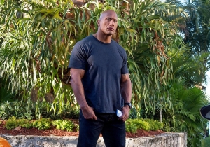 'Fast 8': The Rock is locked up, and he's not happy about it
