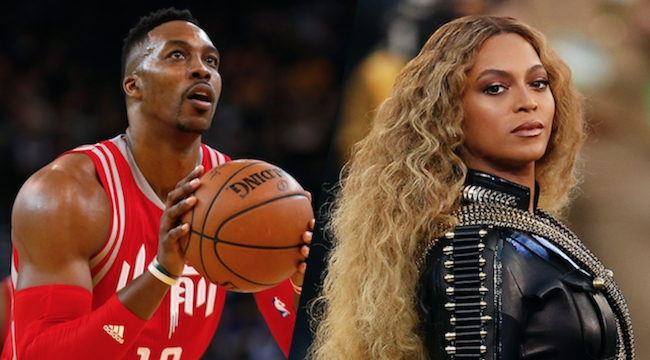 Dwight Howard, Beyoncé