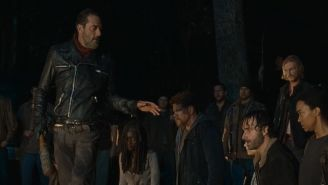 Who is Negan going to wack in The Walking Dead?