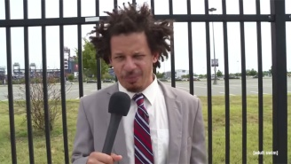Eric Andre Continues His Convention Coverage From Somewhere Near The DNC