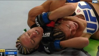 Felice Herrig Gets The Dominant Hometown Submission At UFC On FOX 20