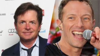 Michael J. Fox Joined Coldplay To Play 'Johnny B. Goode'