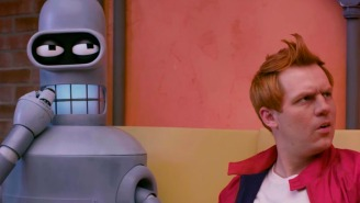 This live-action 'Futurama' fan film is SCARY REAL