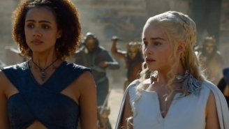 'Game Of Thrones' Actress Nathalie Emmanuel Reveals Whether Or Not Daenerys And Missandei Will Ever Hook Up