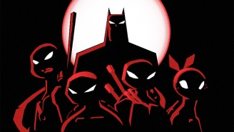 The Animated Versions Of Batman And The Ninja Turtles Will Meet In An Upcoming Crossover