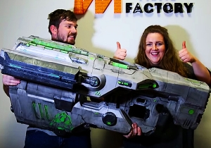 The Creators Of 'Doom' Made A Gigantic 3D-Printed Version Of The Legendary BFG