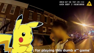 This Distracted 'Pokemon Go' Player Crashed Into A Police Car On Camera