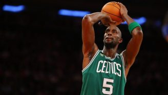 Kevin Garnett Wants To Make Sure You See The Guy Wearing His Shirsey On 'The Price Is Right'