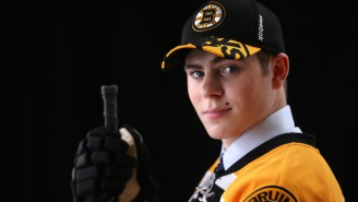 A Bruins Prospect Suffered A Horrific Injury After Taking A Slapshot To The Nuts