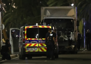 A Huge Truck Plowed Into A Bastille Day Crowd In Nice, France And Dozens Are Feared Dead