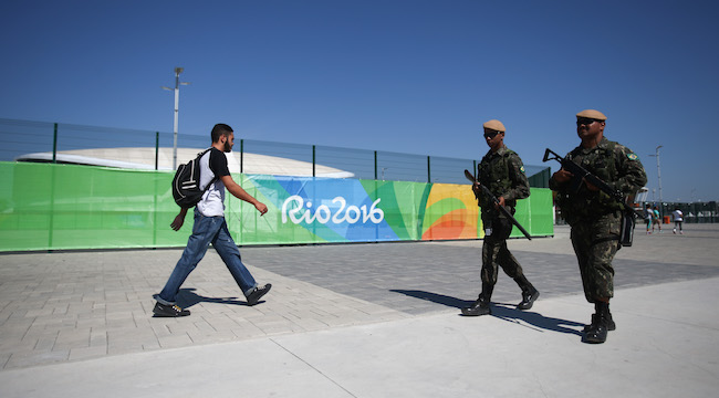 Opening of the Rio 2016 Olympic Village