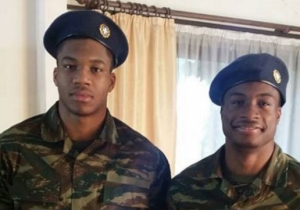 Giannis And Thanasis Antetokounmpo Reported For Military Duty In Greece