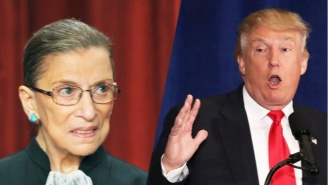 Donald Trump Calls Ruth Bader Ginsburg A 'Disgrace' And Demands She Leave SCOTUS