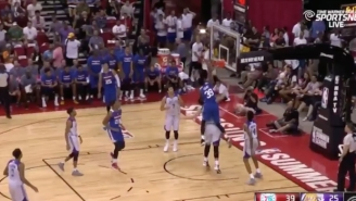 Jerami Grant Welcomed Lakers Rookie Ivica Zubac To The NBA With This Thunderous Dunk