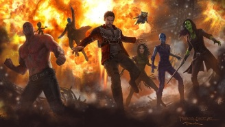 Baby Groot And Mantis Assemble For A 'Guardians Of The Galaxy Vol. 2' Picture