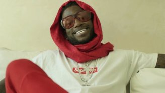 Gucci Mane Is 'Living The Life' In His New Supreme Ad